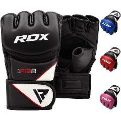 RDX Maya Hide Leather Grappling Gloves